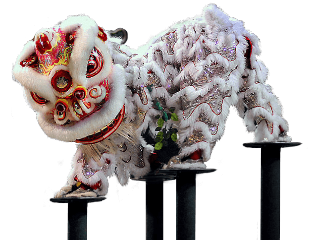 white-lion-dance